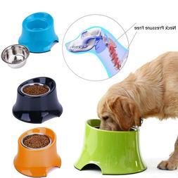 Super Design Elevated Dog Bowl Raised Pet Feeder for Food Wa