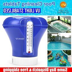 Swimming Pool Chemical Dispenser Chlorine Tablet Feeder w/ F