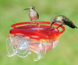 Aspects THE GEM 4 oz Hummingbird Feeder 2 Ports, Window Moun