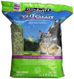 Vitakraft Timothy Hay, Premium Sweet Grass Hay, 100% America
