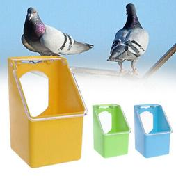 Outdoor Transparent Hanging Water Food Feeder for Pet Pigeon