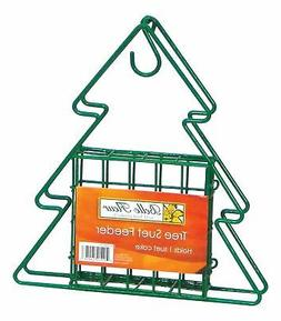 Belle Fleur Tree Suet Bird Feeder, Green, One Suet Cake Capa