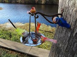 stainless  bird feeder or bath, and waterer. the latest prov