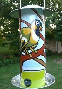 Two Wonderful European Fun Comic Bird Seed Feeder,  NEW, Eas