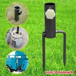 Umbrella Stand Ground Spike Garden Stabilizer Outdoor Bird F
