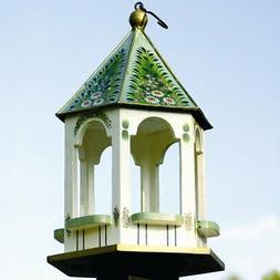 victorian decorative tray bird feeder