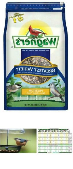 Wagner's bird food blend 62034, 6-Pound Bag for tube, hopper