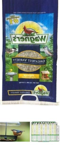 Wagners bird food blend 62034, 16-Pound Bag for tube, hopper