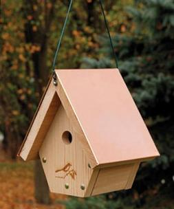 WoodLink WH101 Coppertop Hanging Wren House