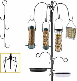 Bird Feeder Pole Wild Bath Seed Station Hanging Garden 6' Sq