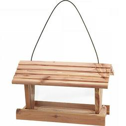 Wild Bird Feeder 3 Lbs Capacity Pennington Cedar Hanging Fee