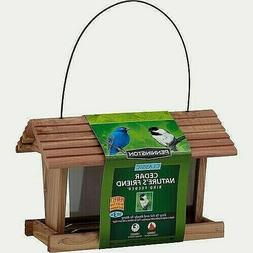 wild bird feeder classic cedar nature s