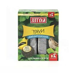 Kaytee Wild Bird Food Nyjer Seed Finch Sock Twin Pack Instan