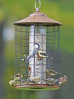 Wild Bird Garden Feeder,Squirrel Proof Hanging Porch Tree Po