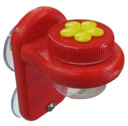 Nectar DOTS Window Hummingbird Feeder Yellow and Red WD-1, 2