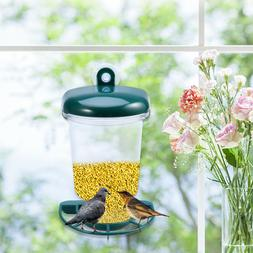 Window Wild Bird Feeder Bird Watching Garden Decoration with