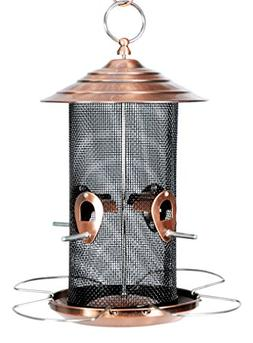 Woodlink WLCBN Copper Finish Nyjer Feeder