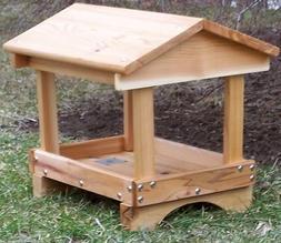 Wood Pavilion Feeder