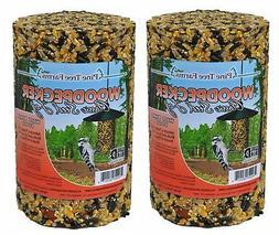 Pine Tree Farm Woodpecker Classic Seed Log, 40-Ounce