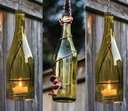 Yellow and Copper Bird Feeder and Lantern Set - Gifts for Mo